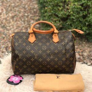 🌸🌸Auth Louis Vuitton Speedy 30🌸🌸